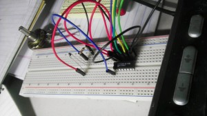 Breadboard Temperature Monitor